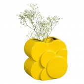 Orla Kiely Layered Shadow Spot Dandelion Vase
