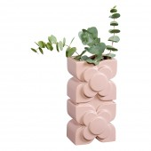 Orla Kiely Layered Square Vase - Rose
