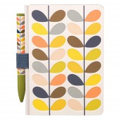 Orla Kiely Pocket Notebook and Pen Set - Multi Stem