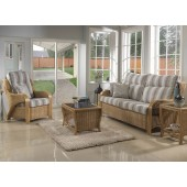 Desser Opera Light Oak 3 Seater Suite and Cushions