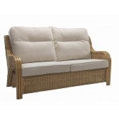 Desser Opera Light Oak 3 Seater Sofa
