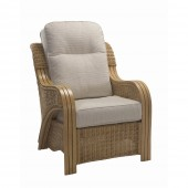 Desser Opera Light Oak Armchair and Cushions