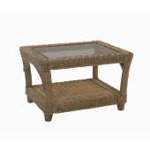 Desser Seville Coffee Table and Bronze Glass