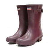 Town and Country Bradgate Wellies - Aubergine