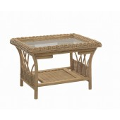 Desser Viola Coffee Table and Bronze Glass