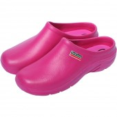 Town and Country EVA Super Soft Cloggies - Raspberry