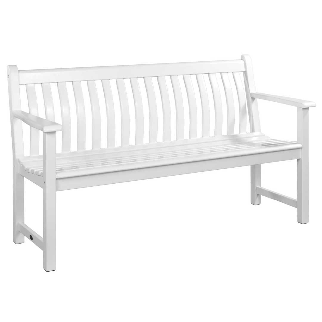 Alexander Rose White Painted Broadfield Bench 5ft