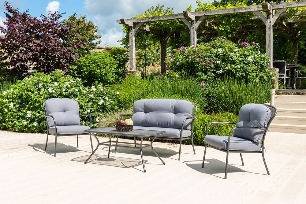 Alexander Rose Portofino 4 Seat Lounge Sofa Set