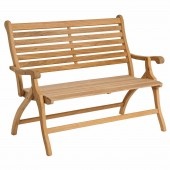 Alexander Rose Roble Folding Bench 4ft