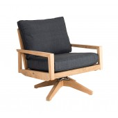Alexander Rose Roble Swivel Lounge Chair