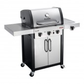 Char-Broil Professional 3400S Stainless Steel TRU-Infrared 3 Burner Gas BBQ