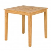 Alexander Rose Roble Square Cafe Table 80 x 80cm