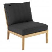 Alexander Rose Roble Lounge Single Mid - Charcoal