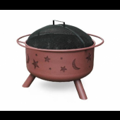 Landmann Moon and Stars Fire Pit - Clay