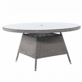 Alexander Rose Monte Carlo Round Table 150 cm - Glass Top