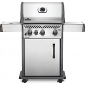 Napoleon Rogue XT 425 Gas BBQ with Infrared Side Burner - Stainless Steel