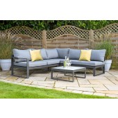 Hartman Vienna Square Corner Lounge Set with Integrated Lounger