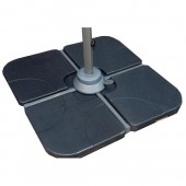 Water Fillable Base For Cross Stand Cantilever Parasols 80Kg