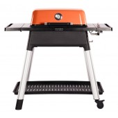 Everdure by Heston Force Gas BBQ - Orange with FREE Pizza Accessory Bundle