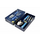 Burgon and Ball Fork and Trowel Garden Gift Set - British Meadow